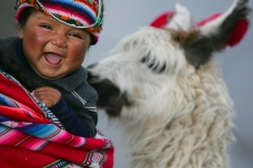 Young indigenous in Cuzco, Peru